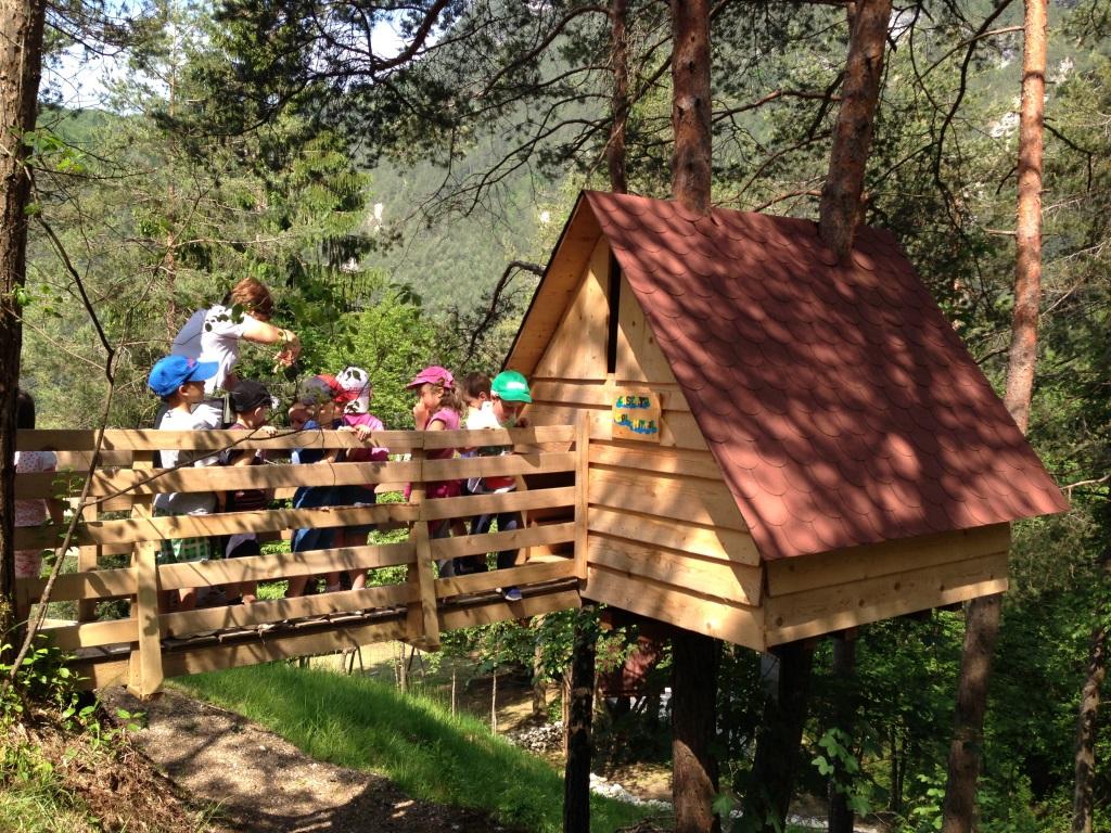 Come costruire una casa sull albero per bambini una casa - Progetto casa sull albero per bambini ...
