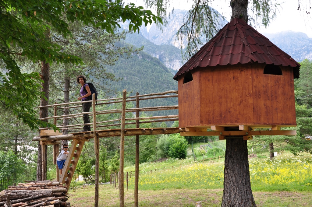 Noleggia la tua casa sull 39 albero per 1 2 3 notti - Costruire case sugli alberi ...